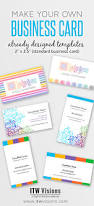 Business Cards Own Design Make Your Own Business Cards Already Designed Templates For
