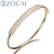 diamond bracelet bangles images Zocai 1 15 ct certified diamond cuff bangles bracelet bracelets jpg