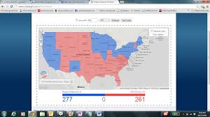 Romney Obama Map 2012 Presidential Election The Modest Proposal