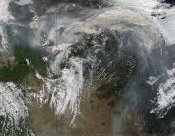 Satellite View Map Nasa Satellites Image Fort Mcmurray Fires Day And Night Nasa