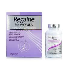 Women Hair Loss Treatment Regaine For Women U0026 Medigro Advanced Hair Supplement Treatment For