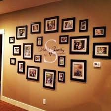 ideas for displaying pictures on walls ideas for hanging family photos on the wall autour