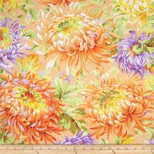 kaffe fassett home decor fabric kaffe fassett shaggy yellow discount designer fabric fabric com