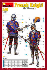 knight xv miniart u2013 16001 french knight xv century