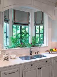 kitchen bay window treatment ideas window treatment design bay window above kitchen sink wonderful