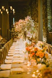 Wedding Designer Lush Florals Fill This Elegant New York Wedding Modwedding