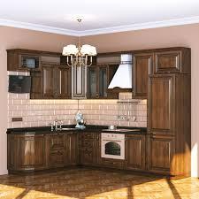 kitchen 3d graphics interior chandelier design