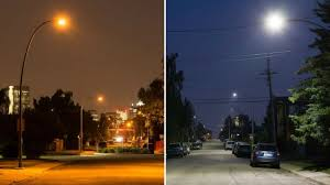 Light Fixtures Calgary Calgary Completes Conversion Of 80k Lights To Led Expects