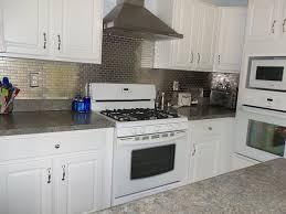 Stainless Steel Mosaic Tile Backsplash by Stainless Steel Mosaic Tile 1x2 Kitchen Backsplash Subway Tiles