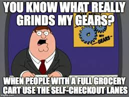 Self Checkout Meme - it s the new more than 10 items in the express checkout lane
