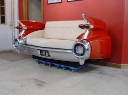Cool Couches Cool Couches With Retro Classic Car Furniture Of 1959 Cadilac Car