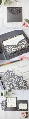 wedding invitation pockets best 25 pocket wedding invitations ideas on pocket