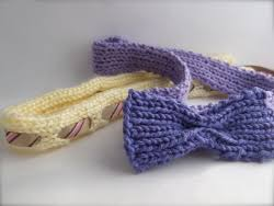 ribbon headbands bow and ribbon headbands allfreeknitting
