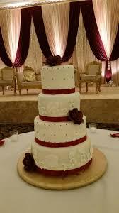 maroon and gold wedding maroon gold wedding cake sugar shindigs
