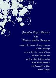 Sample Rsvp Cards Simple Royal Blue Pocket Wedding Invites With Rsvp Cards Ewpi060