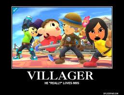 Funny Villager Memes - super smash bros 4 demotivational 48 by sonicqueenb15 on deviantart
