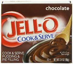 amazon com jell o cook u0026 serve pudding u0026 pie filling chocolate