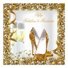 modern gold leopard print fabulous 50 u2013 teen birthday invitations