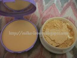 Bedak Viva viva compact powder lilac review