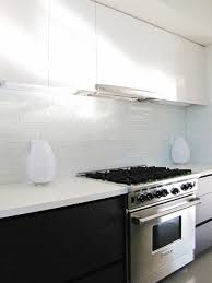 Clear Glass Kitchen Backsplash - Green glass backsplash tile