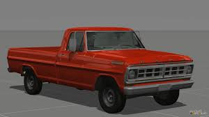 Ford F100 1975 Cars For Beamng Drive With Automatic Installation Download Cars
