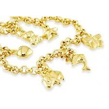 gold charm bracelet chains images 14k gold animals star heart butterfly charm bracelet charm jpg