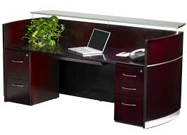 Teknion Reception Desk Napoli Reception Desk With Floating Glass Transaction Counter