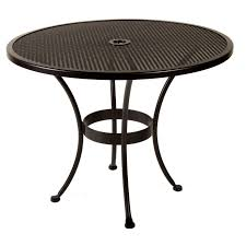 Patio Set Cover With Umbrella Hole by Round Plastic Patio Table With Umbrella Hole Starrkingschool