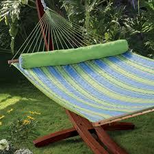 algoma 15ft russian pine wood arc hammock stand hayneedle