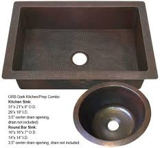 Round Kitchen Sink by Dark Copper Kitchen Sink Farmhouse Sink Copper Sinks Direct