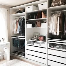 walk in closet sneak peek ikea pax wardrobe crystalin marie and