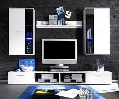 Wohnzimmerschrank Schwarz Weiße Wohnwand Atemberaubende Auf Wohnzimmer Ideen Mit Weiss 3