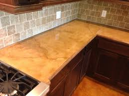 light colored concrete countertops unique brown concrete countertop for work table wooden varnished l