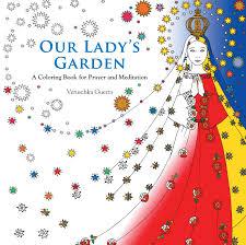 lady u0027s garden coloring book