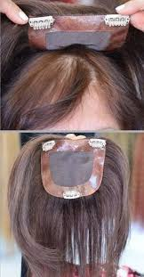 thinning hair in women on top of head another partial wig that looks completely natural top tier