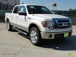 ford f150 lariat 4x4 for sale 2010 ford f150 lariat supercrew 4x4 in white platinum metallic tri