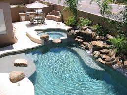 Pretty Backyards Dont U0027 Like The Stone But The Layout Works Pretty Backyard Pool