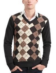 plaid sweater mens casual slim plaid sweater n105z doublju delio duchess of
