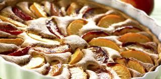 cuisiner les peches tarte aux pêches facile recette sur cuisine actuelle