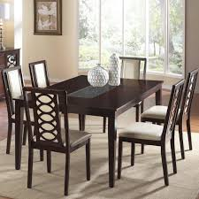 Dining Room Table And Chair Sets by 7 Piece Dining Table And Chair Set By Cramco Inc Wolf And