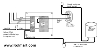 Hid Ballast Wiring Diagrams For Metal Halide And High Pressure