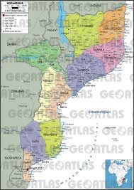 France Physical Map by Geoatlas Countries Mozambique Map City Illustrator Fully