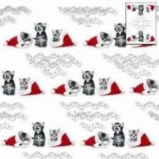 cat christmas wrapping paper christmas luxury wrapping paper black cat kitten country