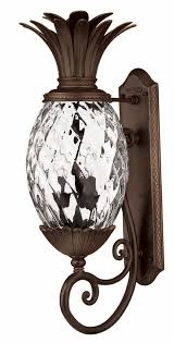 Pineapple Sconces Outdoor by Copper Bronze Plantation U003e Exterior Wall Mount