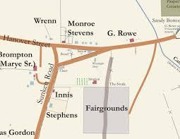 Fredericksburg Va Map Fredericksburg U0027s First Suburb Survivors Some Forgotten