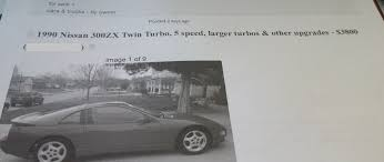 here u0027s what it cost to buy and rebuild a nissan 300zx twin turbo