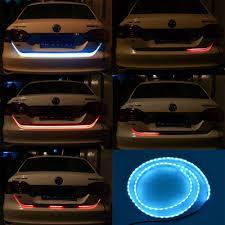 online shop car tailgate strip light rgb led brake rear turn
