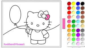 kitty cat christmas coloring pages images printable