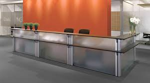 Stand Up Reception Desk Office Furniture Systems Assmann Büromöbel