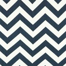 Clearance Drapery Fabric Navy Chevron Fabric Blue And White Chevron Fabric